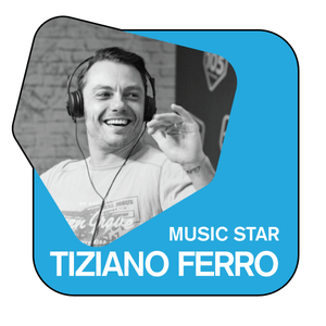 105 - MUSIC STAR Tiziano Ferro
